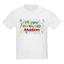 Happy Birthday Mason T-Shirt