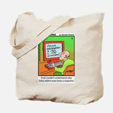 #42 No snapshot Tote Bag