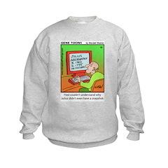 #42 No snapshot Sweatshirt