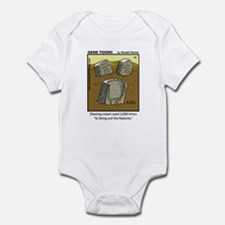 #44 Shaving cream Infant Bodysuit