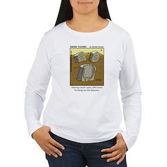 #44 Shaving cream Women's Long Sleeve T-Shirt
