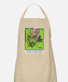 #45 Newspaper challenged BBQ Apron