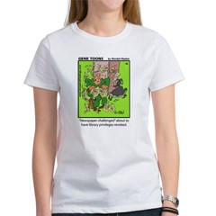 #45 Newspaper challenged Women's T-Shirt