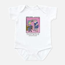 #46 No computer Infant Bodysuit