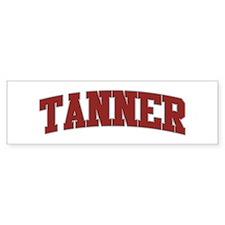TANNER Design Bumper Bumper Sticker