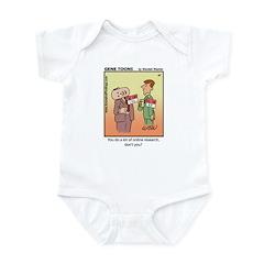 #47 Online research Infant Bodysuit