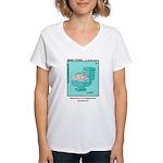 #48 Repository Women's V-Neck T-Shirt