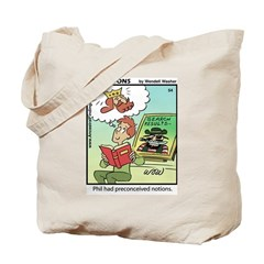 #54 Preconceived Tote Bag