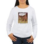 #55 Digging up Women's Long Sleeve T-Shirt