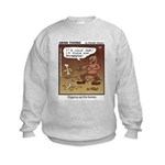 #55 Digging up Kids Sweatshirt