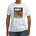 #55 Digging up Fitted T-Shirt