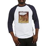 #55 Digging up Baseball Jersey