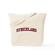 STRICKLAND Design Tote Bag
