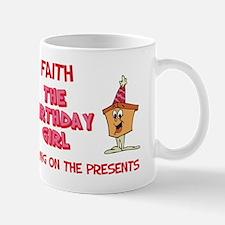 Happy Birthday Faith Mug