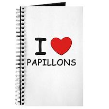 I love PAPILLONS Journal