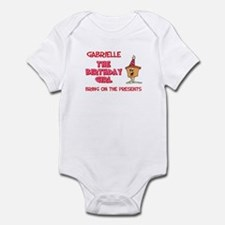 Happy Birthday Gabrielle Infant Bodysuit