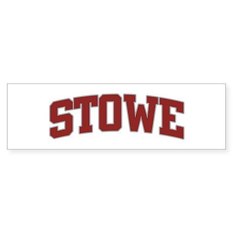 STOWE Design Bumper Sticker