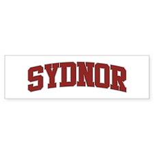 SYDNOR Design Bumper Car Sticker