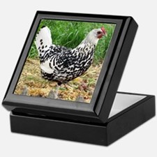 Country Hen Keepsake Box