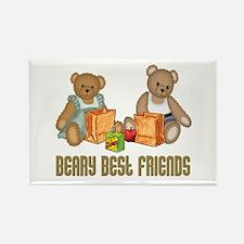 Best Friend Teddybear Rectangle Magnet