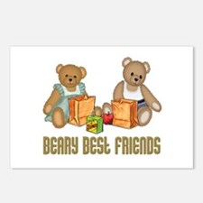 Best Friend Teddybear Postcards (Package of 8)