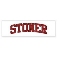 STONER Design Bumper Bumper Sticker