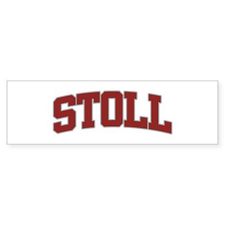 STOLL Design Bumper Sticker