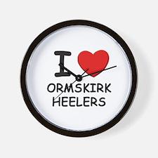 I love ORMSKIRK HEELERS Wall Clock