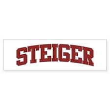 STEIGER Design Bumper Bumper Sticker