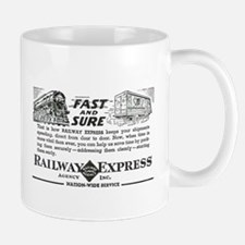Fast & Sure-Railway Express Mug