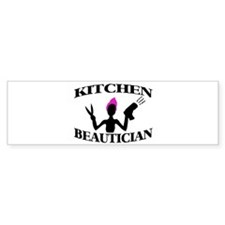 Kitchen Beautician Bumper Bumper Sticker