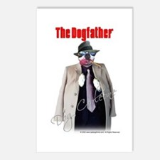 Dog Corleone- The Dogfather Postcards (Package of