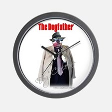 Dog Corleone- The Dogfather Wall Clock