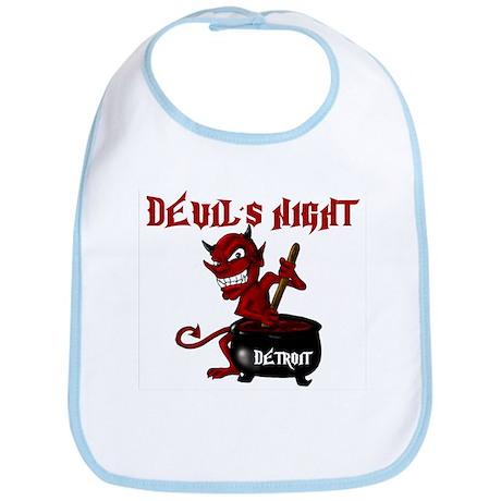 Detroit Devil's Night Bib