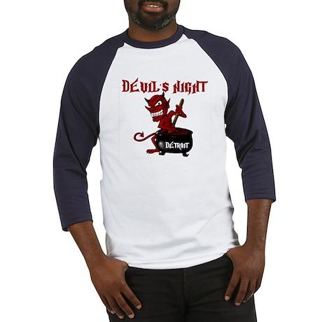 Detroit Devil's Night Baseball Jersey