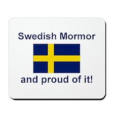 Proud Swedish Mormor Mousepad