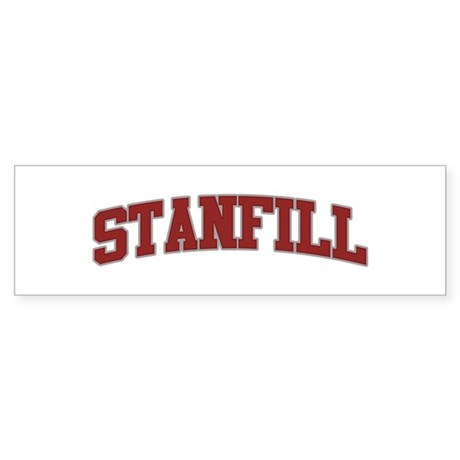 STANFILL Design Bumper Sticker