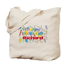 Happy Birthday Richard Tote Bag