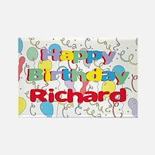 Happy Birthday Richard Rectangle Magnet