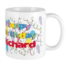 Happy Birthday Richard Mug