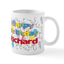 Happy Birthday Richard Small Mug