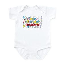 Happy Birthday Richard Infant Bodysuit