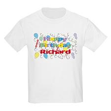 Happy Birthday Richard T-Shirt