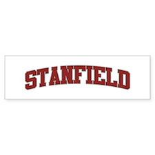STANFIELD Design Bumper Bumper Sticker