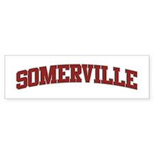 SOMERVILLE Design Bumper Bumper Sticker