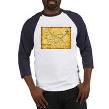 Chaco Canyon Map Baseball Jersey