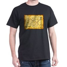 Chaco Canyon Map T-Shirt