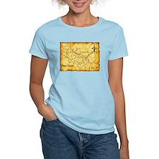 Chaco Canyon Map T-Shirt