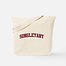 SINGLETARY Design Tote Bag