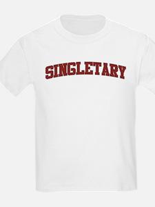 SINGLETARY Design T-Shirt